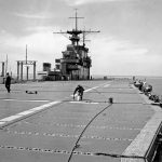 USS Hornet deck 1941