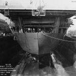 USS Hornet stern