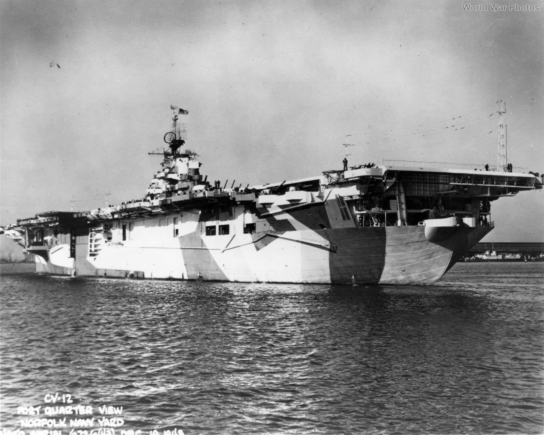 USS Hornet at Norfolk Navy Yard