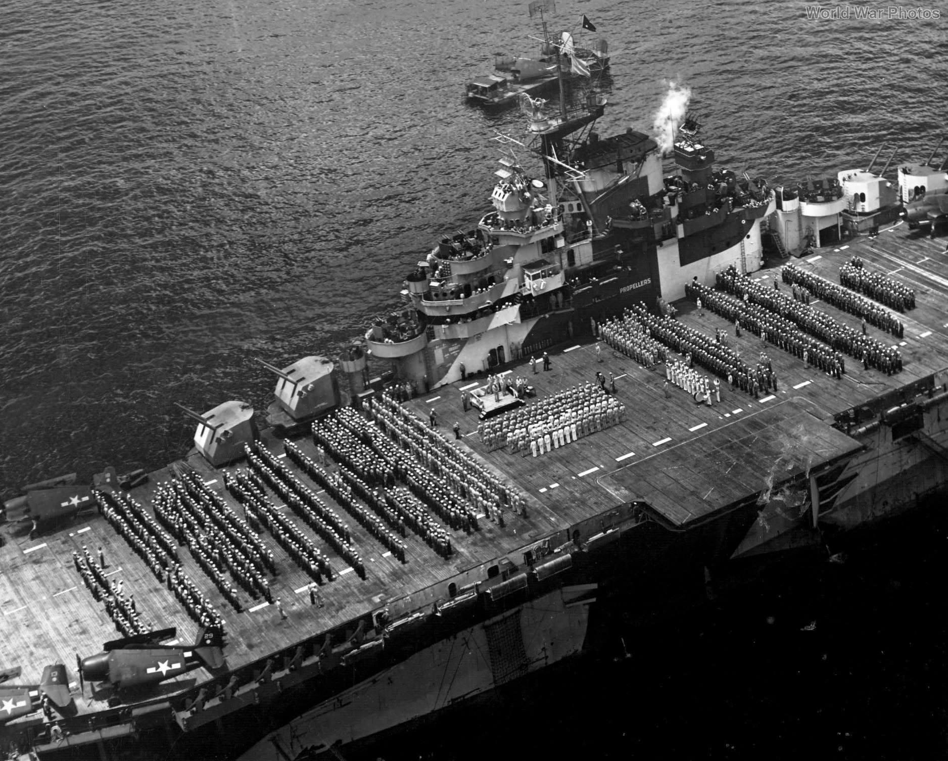 Carrier USS Hornet