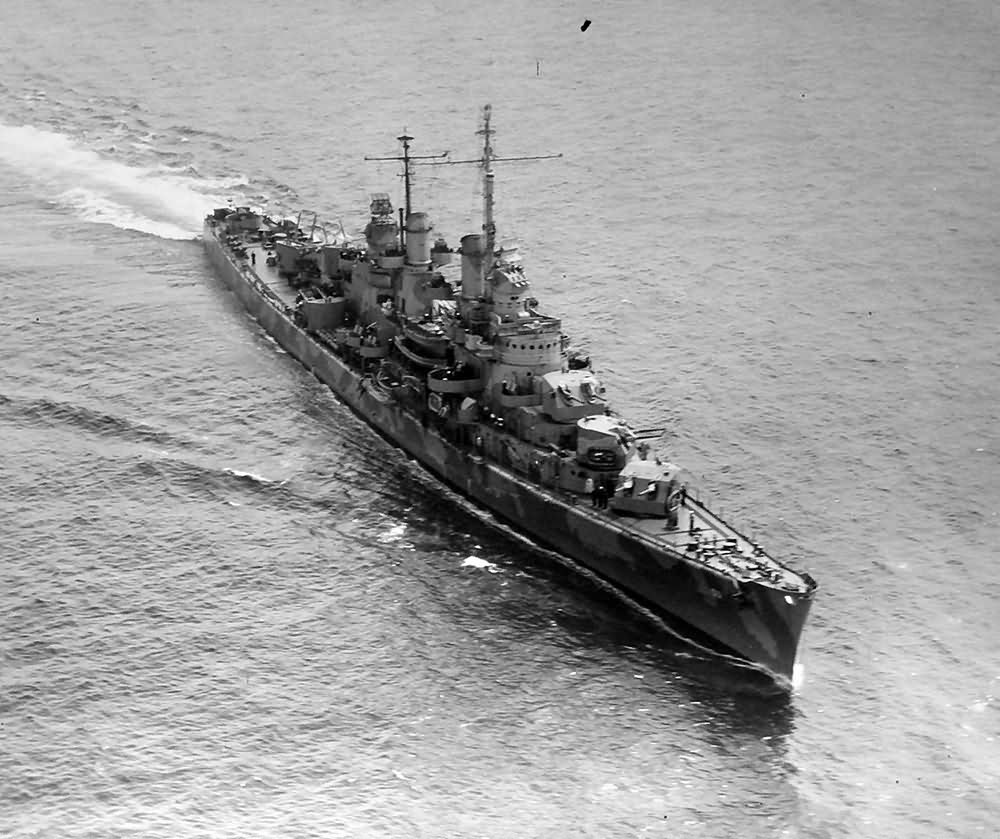 light cruiser USS San Diego (CL-53)