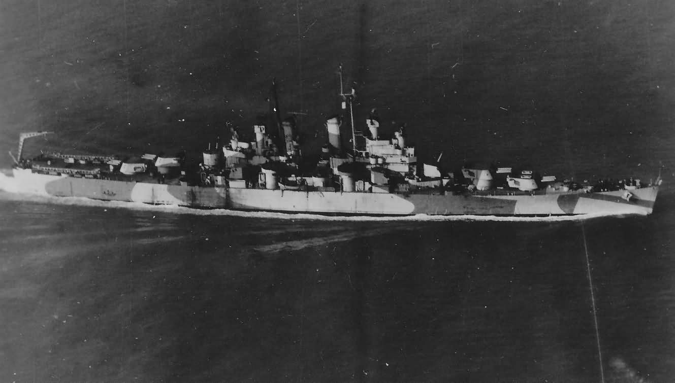 light cruiser USS Topeka CL-67