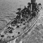 Battleship USS Wyoming BB-32 stern