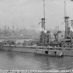 USS Wyoming Brooklyn Navy Yard June 1915