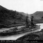 Wyoming passing through the Galliard Cut 26 July 1919