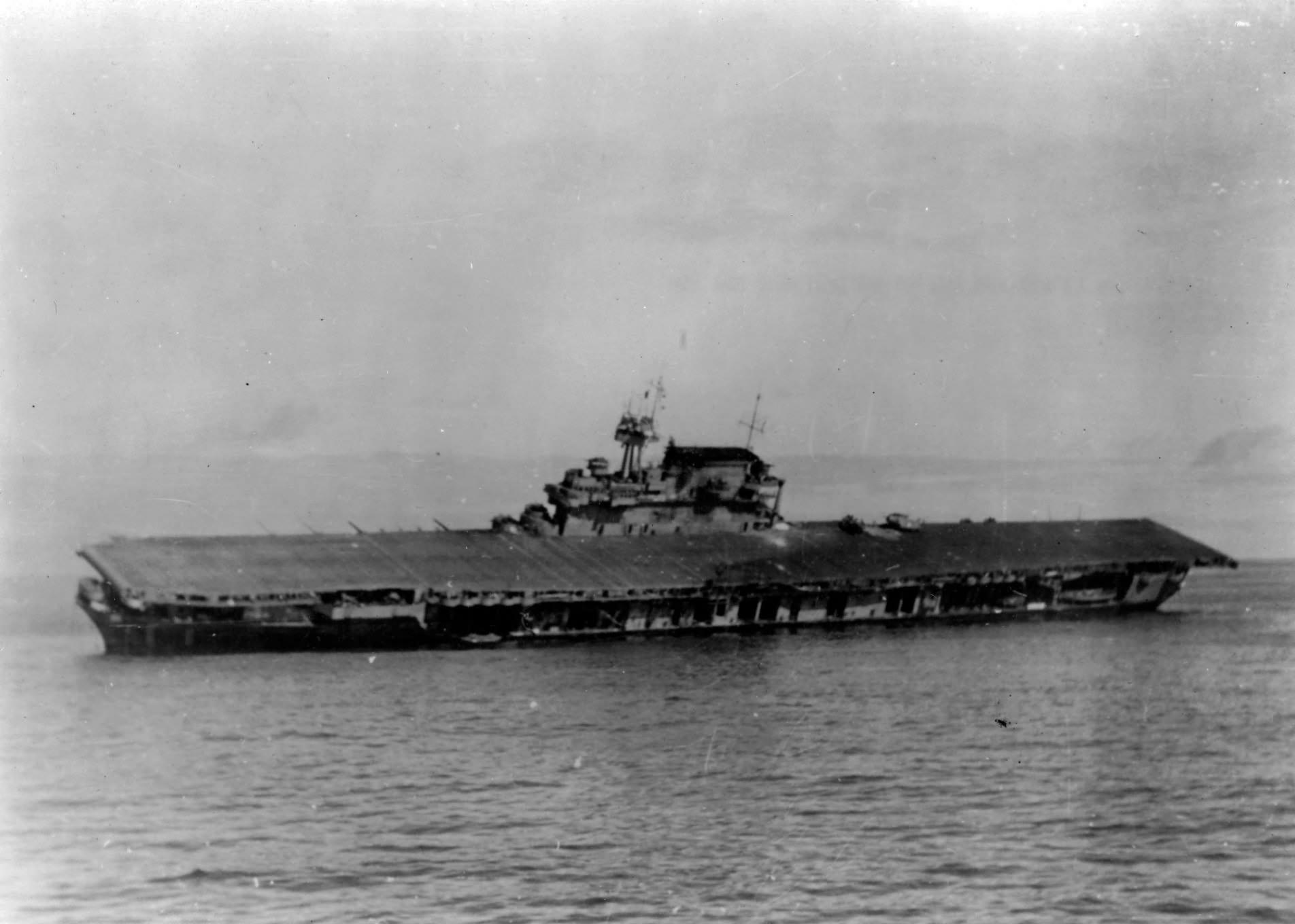 USS Yorktown 6 June 1942