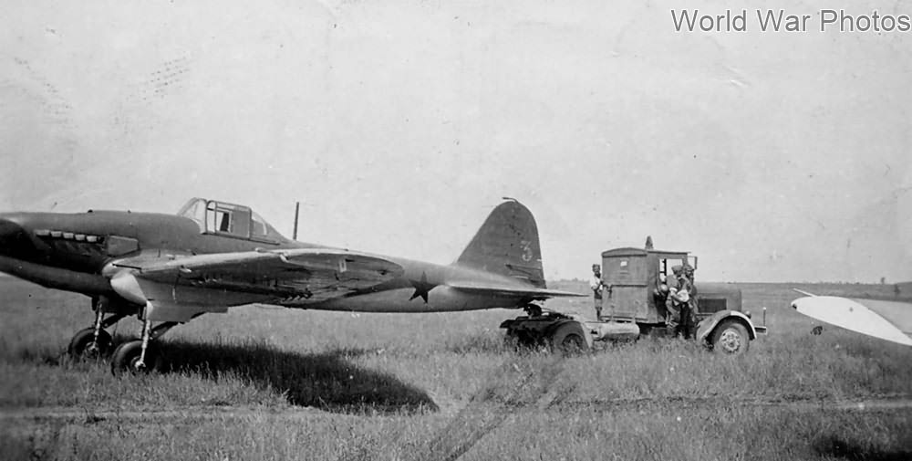 Early Il-2 of the 74 ShAP (74th Assault Aviation Regiment) 1941