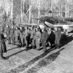 Briefing of an Il-2 crews