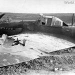 Crashed IL-2 single seater