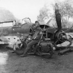 IL-2 and Wehrmacht soldier with motorcycle