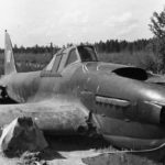 "Crashed IL-2 Sturmovik ""white 10"""