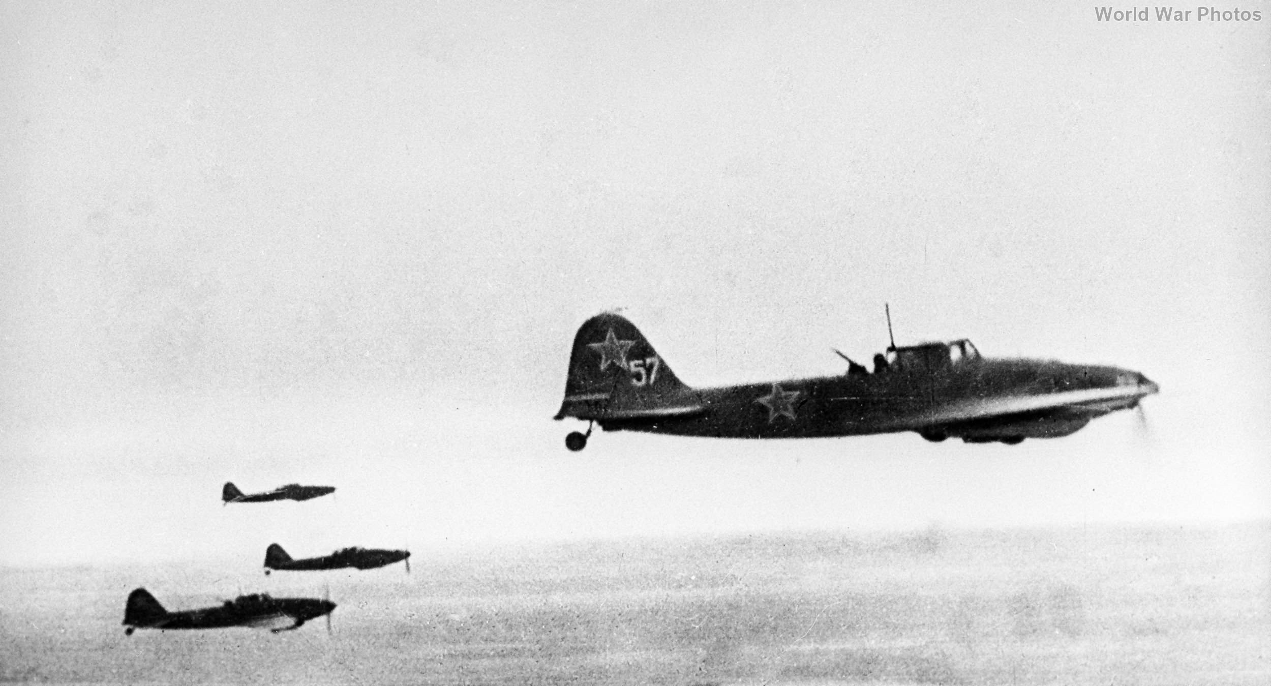 Il-2 over Konigsberg April 1945