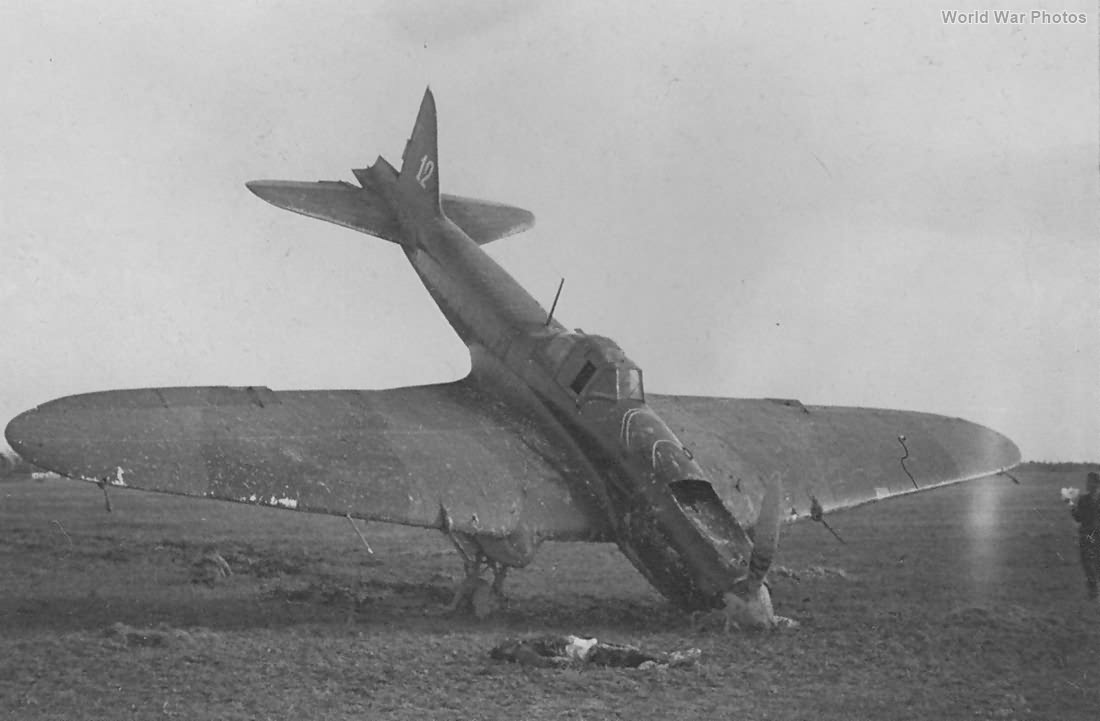 Wreck of IL-2 12