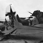 Damaged tail of the Il-2