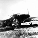 Heavily damaged IL-2 26 July 1944