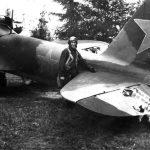 Damaged Ilyushin Il-2 from 872 ShAP