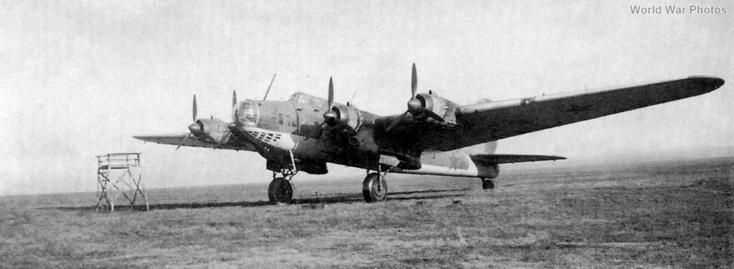 Soviet heavy bomber Pe-8 ASh-82