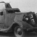 German light armored car BA-20