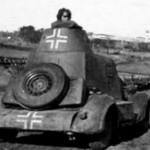 Armored car BA-20 3