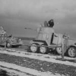Armored cars BA-20 and BA-10