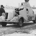 German BA-20 with winter camouflage 21