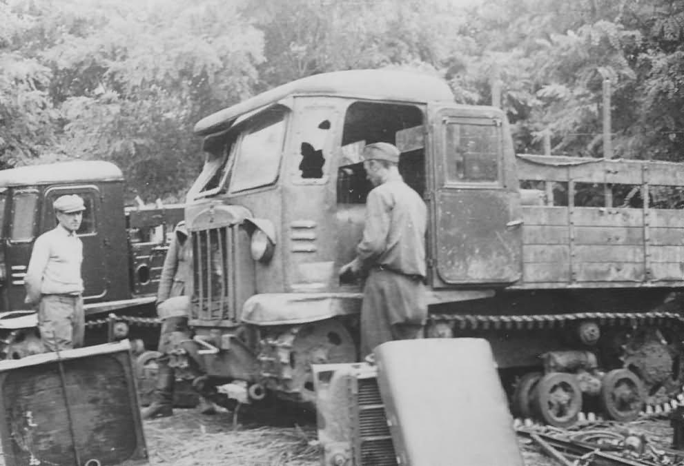 German STZ-5 artillery tractor