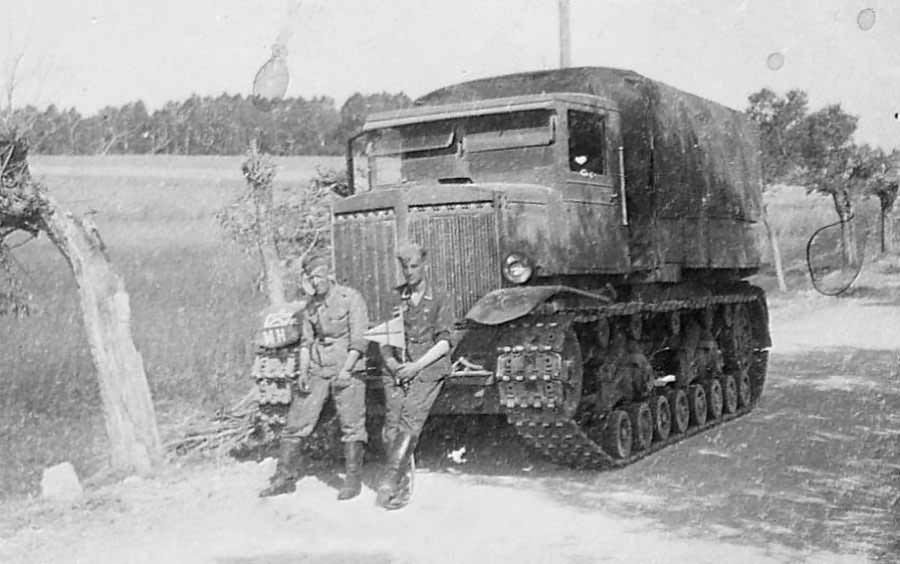 Heavy Artillery Tractor Voroshilovets