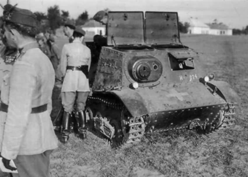 Komsomolets armored tractor