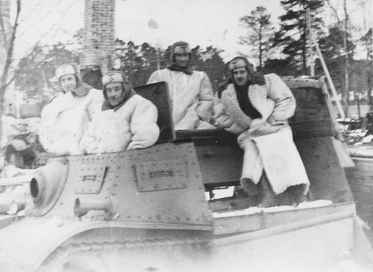 Komsomoletz Finnland Hango March 1943