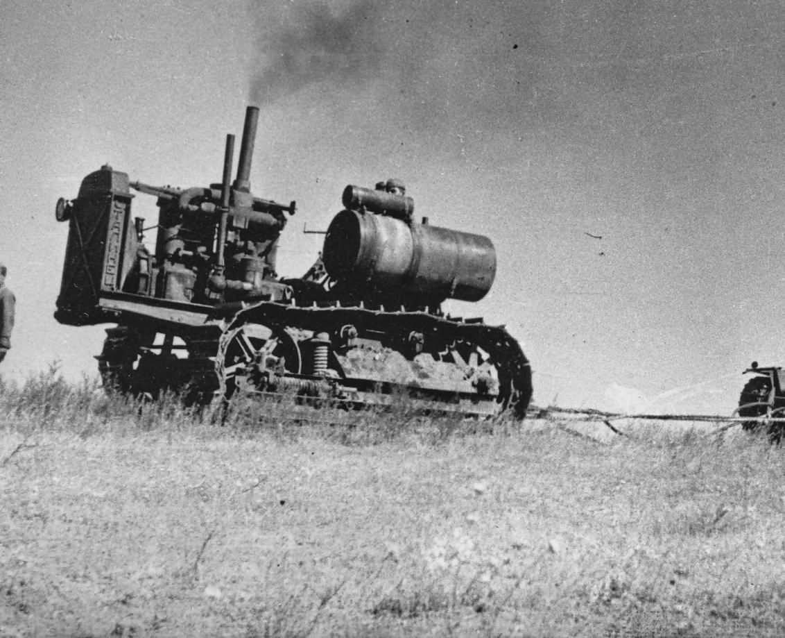 Russian Stalinetz tractor S-60