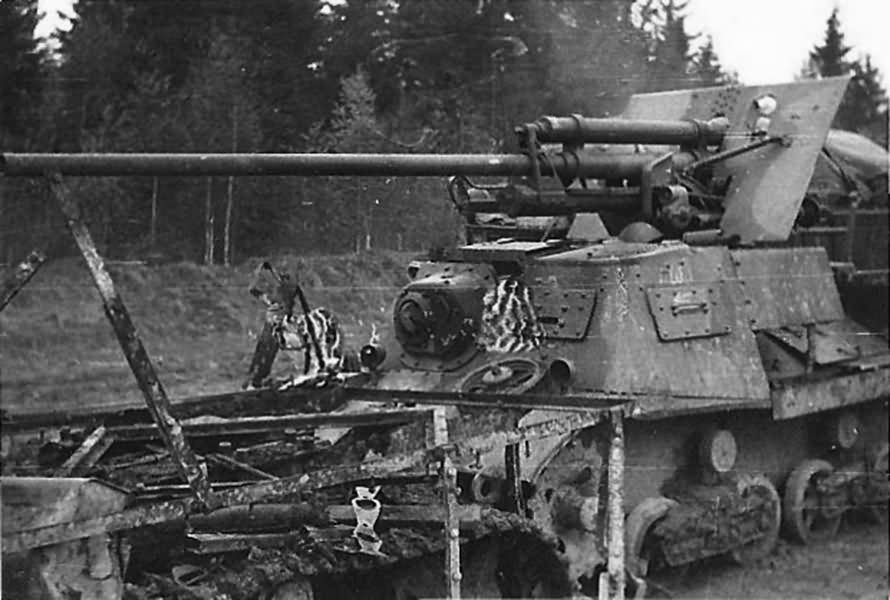 ZiS-30 57 mm self propelled anti tank gun