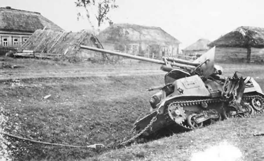ZiS-30 self propelled anti tank gun