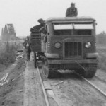 Captured STZ-5 artillery tractor