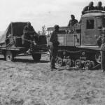 Captured Soviet Artillery Tractor STZ-5