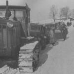 Russian Stalinetz S-65 tractor 1942