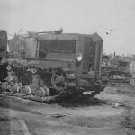 Voroshilovets artillery tractor