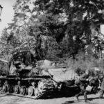 ISU 122S 3guard tank army Germany Spring 1945