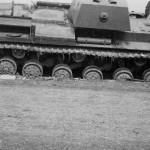 Abandoned soviet heavy tank KV-1