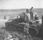 Early KV1 model 1940 Tank Witebsk Belarus