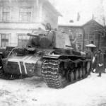 German KV flame thrower tank