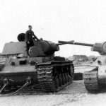 KV-1 and T-34 captured intact in Bialystok Poland