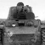 Tank KV-1 model 1942 front view