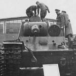 KV-1 tank model 1940 (early)