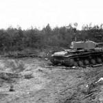 Abandoned KV-1 tank 1941 Operation Barbarossa