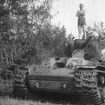 KV1 Schaulen in Lithuania 1941