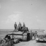 Soviet heavy tank Kliment Voroshilov KV-1 12