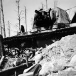 Soviet heavy tank Kliment Voroshilov (KV-1) 17
