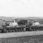 KV1 heavy tanks model 1941