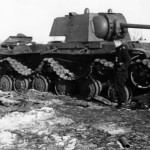 Soviet heavy tank Kliment Voroshilov KV-1 3