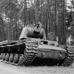 KV1 heavy tank eastern front
